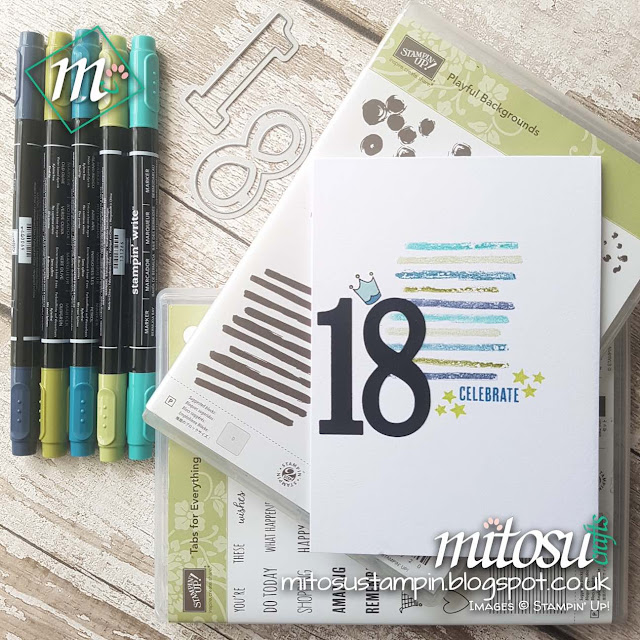 Stampin' Up! NEW 2017 - 2018 Tabs for Everything Order Stampinup SU Online Shop Mitosu Crafts UK 2