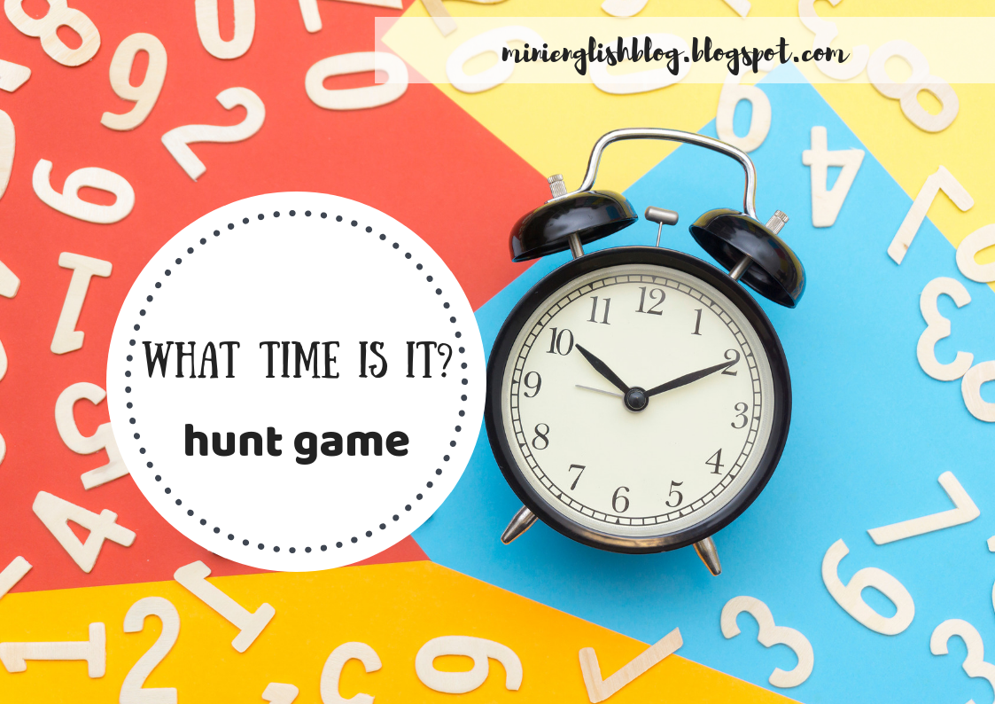Telling the Time Hunt Game