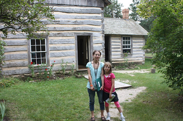 Some of our ancestors are Danish, so it was fascinating to visit Old World Wisconsin's Danish homestead!
