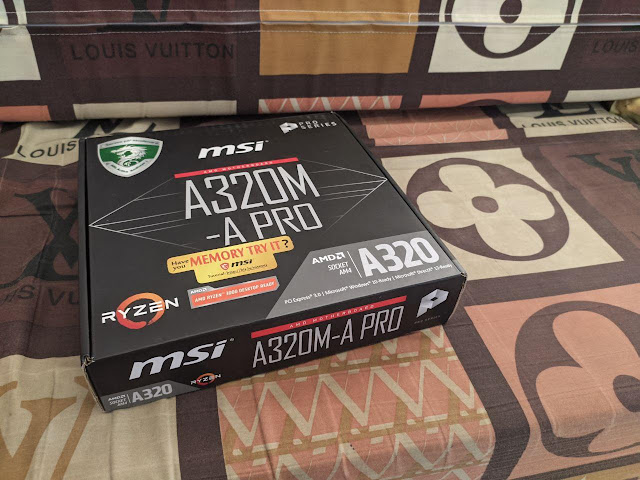 motherboard motherboard MSI A320M