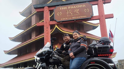 Kisah Arek Suroboyo Penunggang Moge di Amerika: Pendeta Keren Itu Selalu Santun di Atas Harley