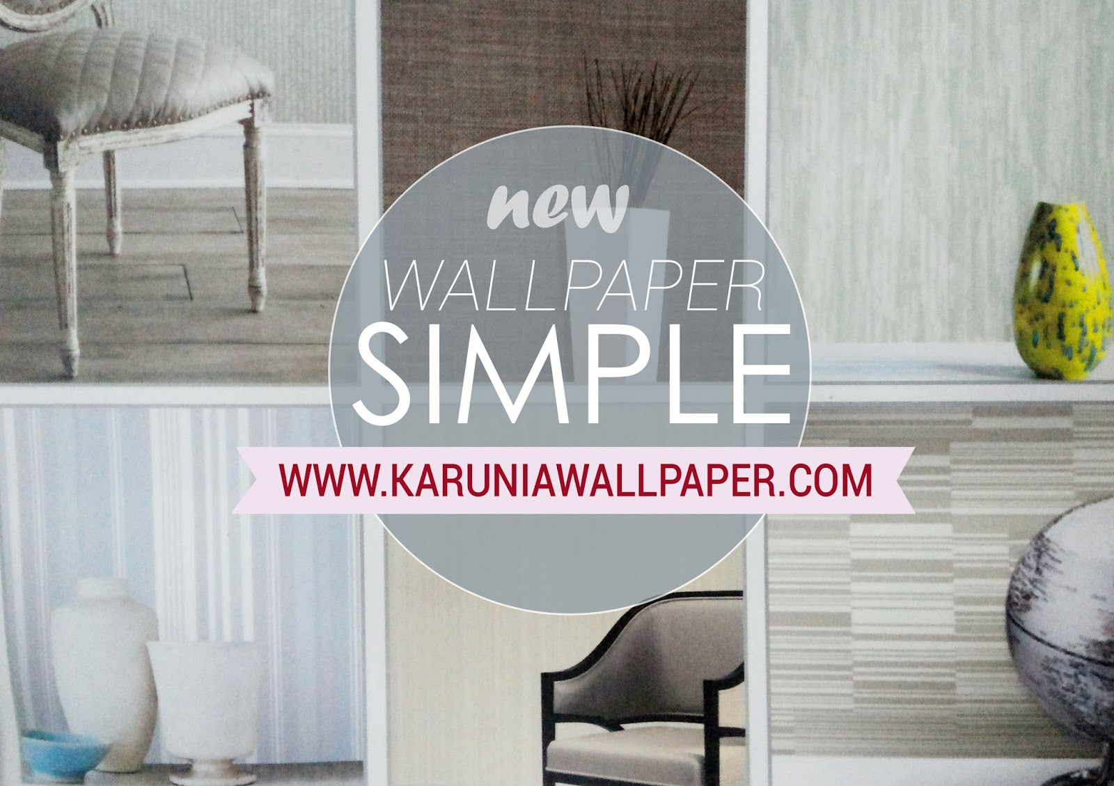 jual wallpaper simple minimalis surabaya
