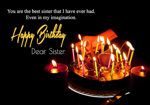Happy Birthday wishes for Sister (HD images)