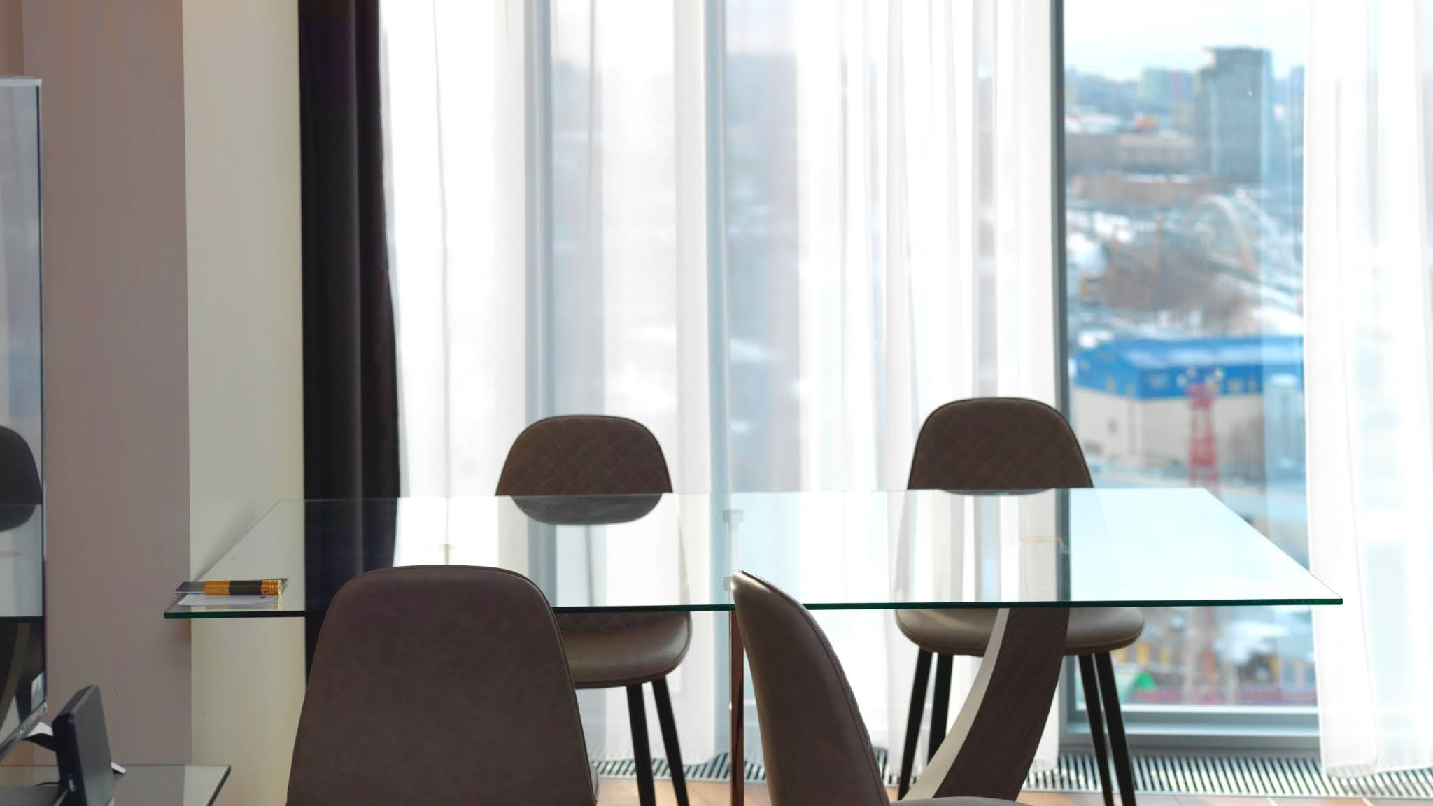 szklany stolik kawowy prostokatny