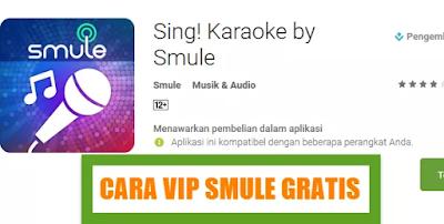 Tutorial Mendapatkan Akses Smule Gratis (VIP Unlocked)