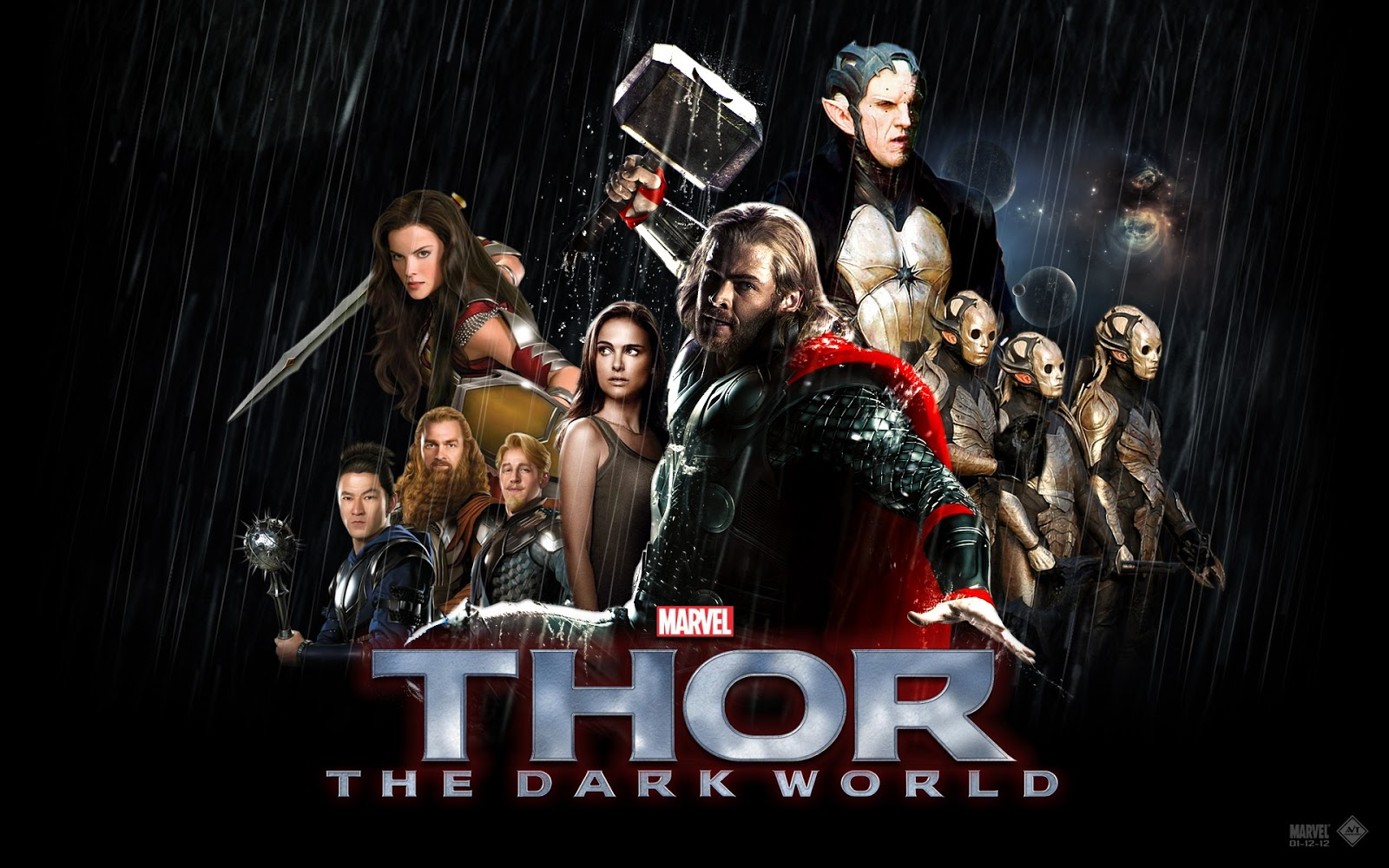 Thor 2 the dark world wallpapers