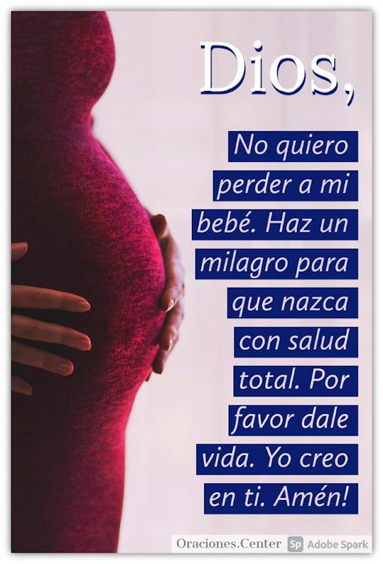 Oración para No Perder a mi Bebé