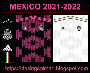 Camiseta Selección México 2021-2021 (Vector Free)