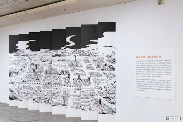 【大叔生活】龍山文創基地,台北市的文創新態度 - 另一側則是充滿古意的萬華區鳥瞰圖