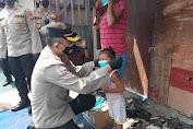 Irwasda Polda Metrojaya mengecek giat Swab Antigen Gratis di Pademangan