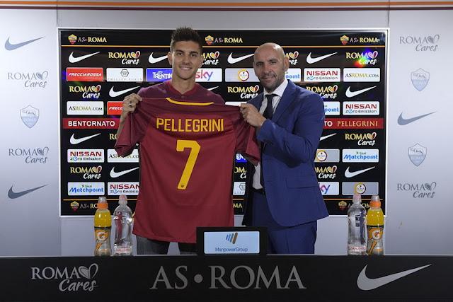 Betapa senang Lorenzo Pellegrini kembali ke Roma