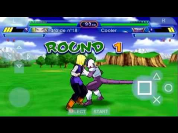 DRAGON BALL Z SHIN BUDOKOI Game PSP High Compress