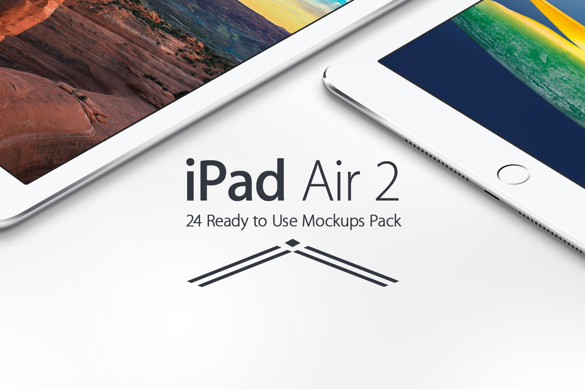 iPad Air 2 Mockups Pack