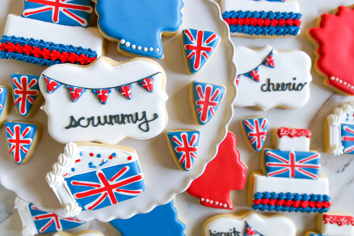 Great British Baking Show-inspired cookies #gbbo