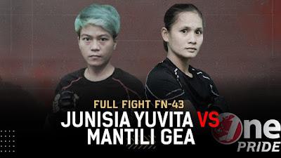 Selamat! Mantili Gea Menang, Atlet Pro MMA Asal Nias Ini pun Dikontrak 3 Tahun One Pride