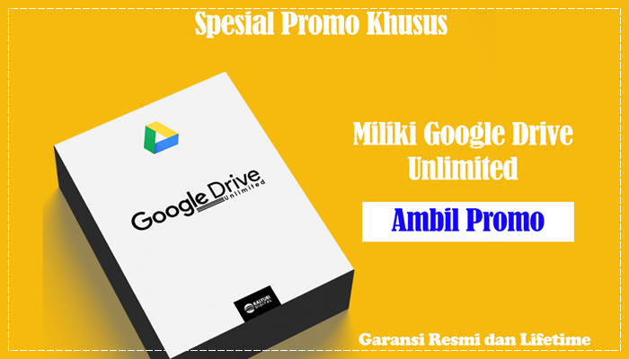 Google Drive Unlimited Lifetime