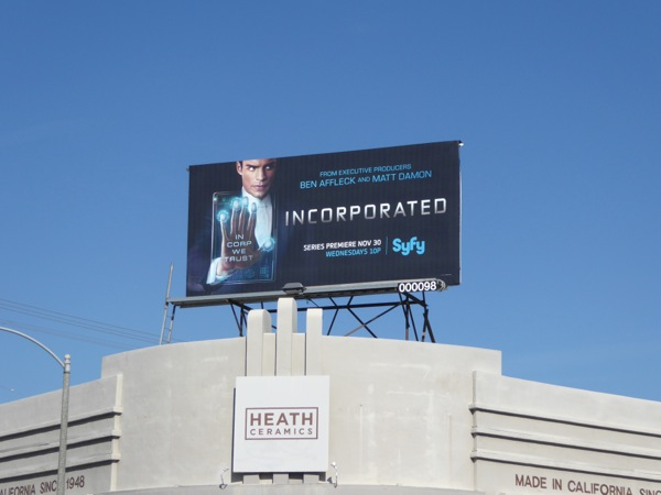 Incorporated season 1 billboard