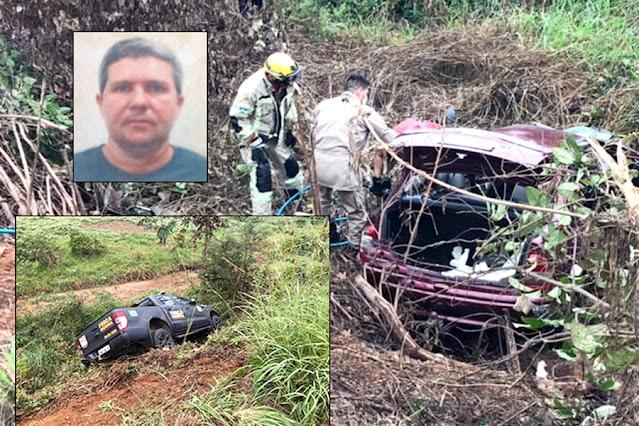 Vídeo: acidente envolvendo viatura da Força Nacional de Segurança deixa um morto na BR-364