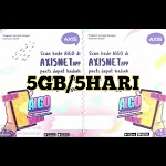 Voucer Axis 5GB/5Hari