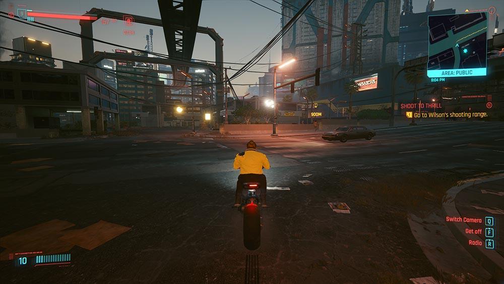 Cyberpunk 2077 Review Bike