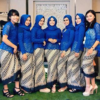 Kebaya Brokat Modern 2017