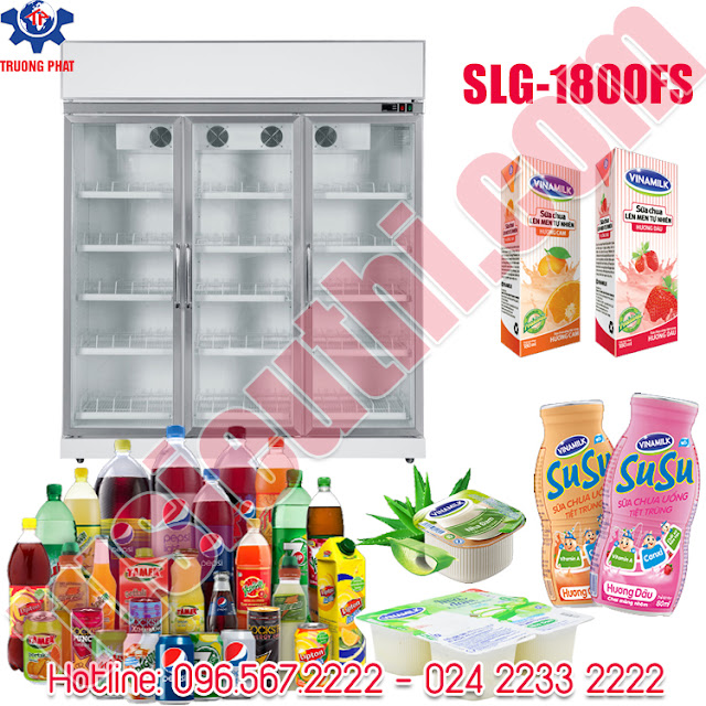tủ lạnh trưng bày nước ngọt, đồ uống giá rẻ