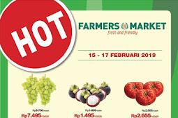 Katalog Promo Farmers Market Weekend Terbaru 15 - 17 Februari 2019