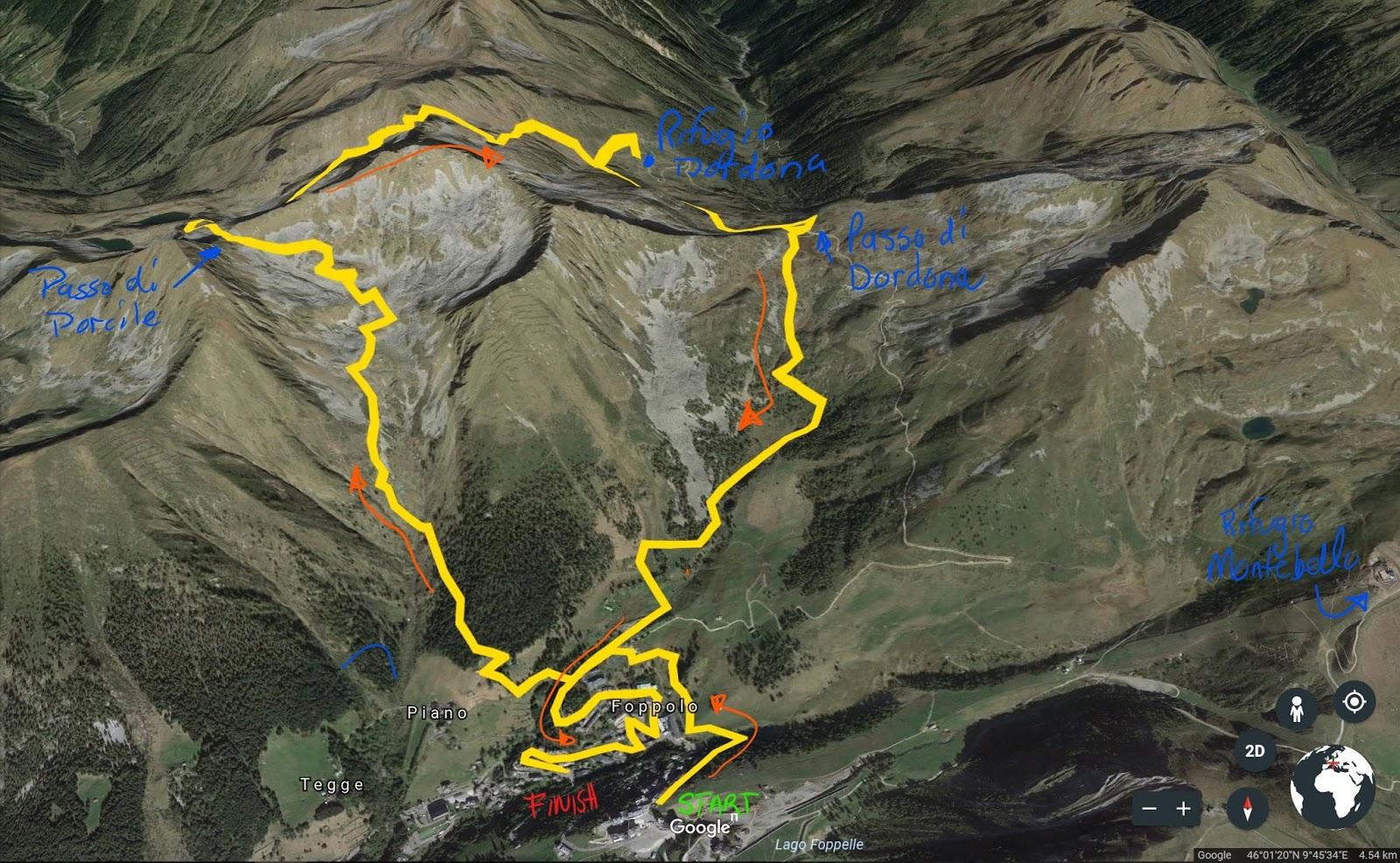 Hike: Passo Porcile and Rifugio Dordona from Foppolo