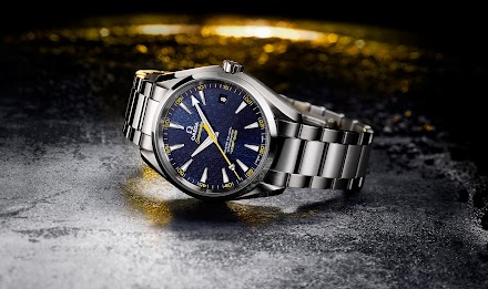OMEGA SEAMASTER AQUA TERRA 150M JAMES BOND EDITION | LUXUS AM HANDGELENK