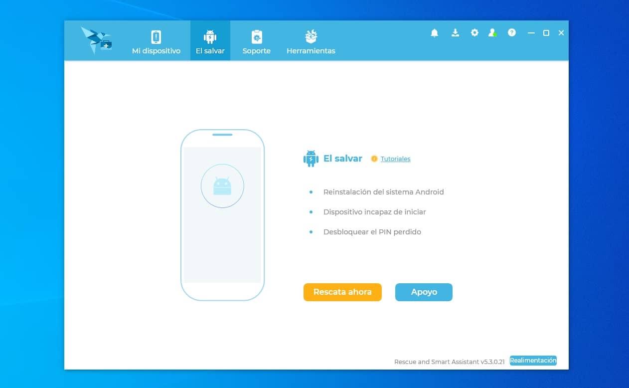 Flashear y actualizar cualquier teléfono Motorola o Lenovo con Rescue and Smart Assistant Tool