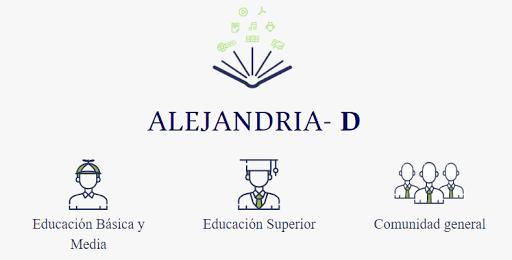Alejandría-D: recursos educativos libres de la Universidad Nacional de Colombia