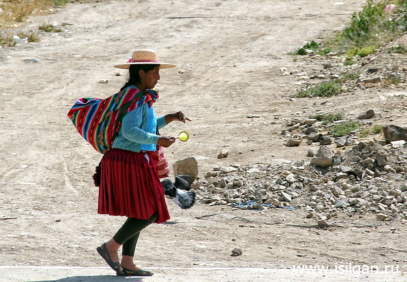 Город Оруро. Боливия