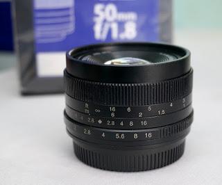 Lensa 7Artisans 50mm f1.8 for M4/3 lumix - olympus