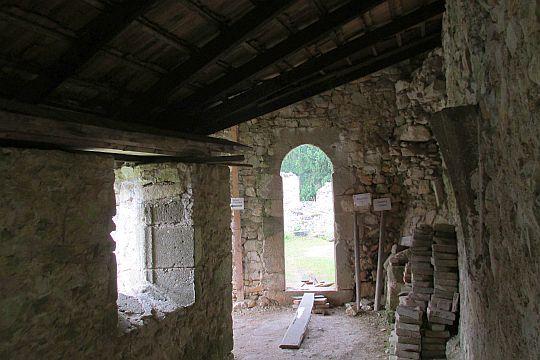 Klasztorne zabudowania.