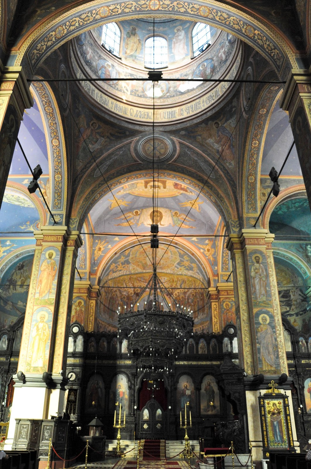 Inside Dormition of the Mother of God Cathedral, Varna