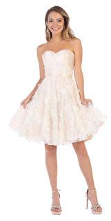 knee-length prom dresses