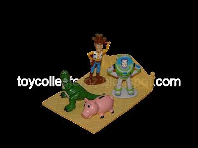 KFC Toy Story Bed Puzzle Toys 1996 - Australia and New Zealand