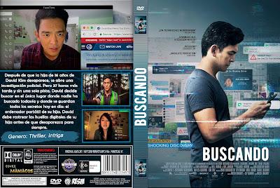 CARATULA BUSCANDO - 2018 [COVER-DVD]
