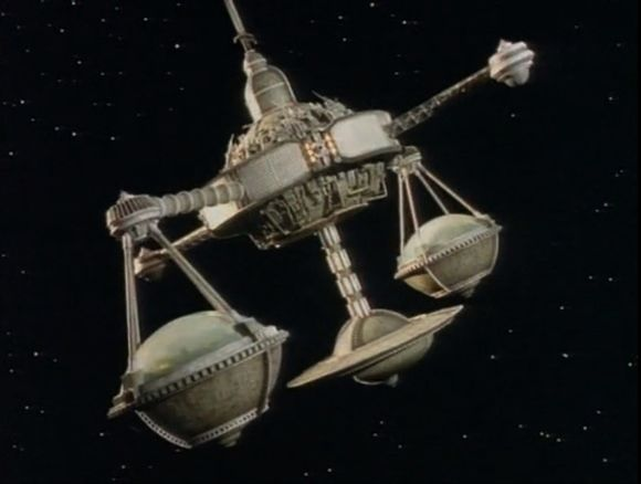 The Justice World space station in Red Dwarf IV