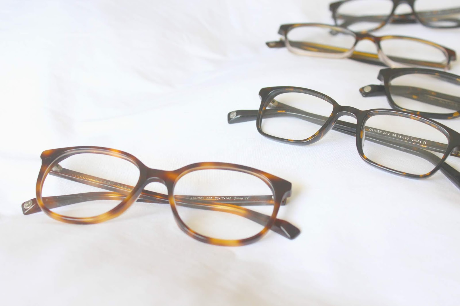 Cupcakes and Sunshine: Fun With Warby Parker - 5 Frame Try-On Review