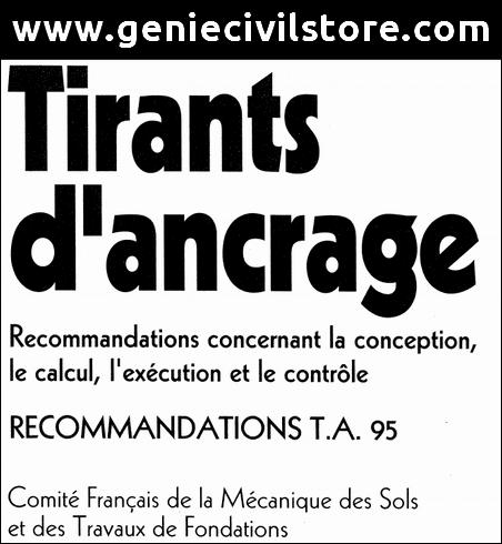 Tirants d'Ancrage (CFMS) PDF