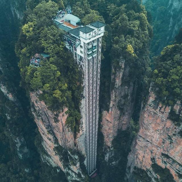 thang máy Bách Long cao nhất thế giới