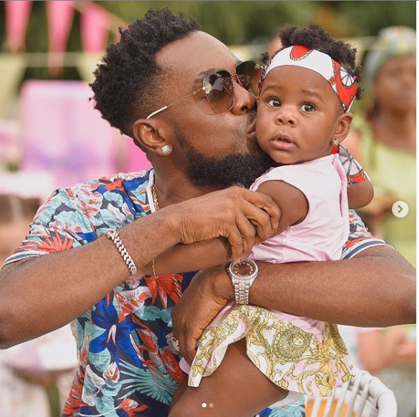 Patoranking And Daughter Breaks Internet With Adorable Photos