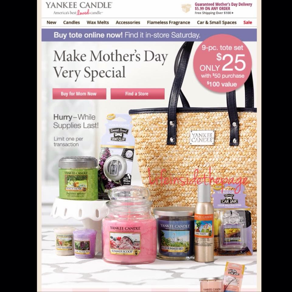 About Yankee Candle TV Commercial, 'Mother's Day Personalized Yankee Candles'