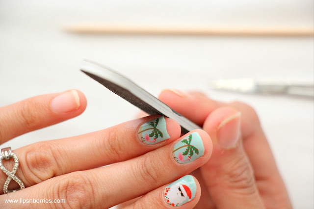 how to file nails easily