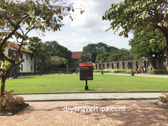 Photo showing Plaza de Armas of Fort Santiago in Intramuros