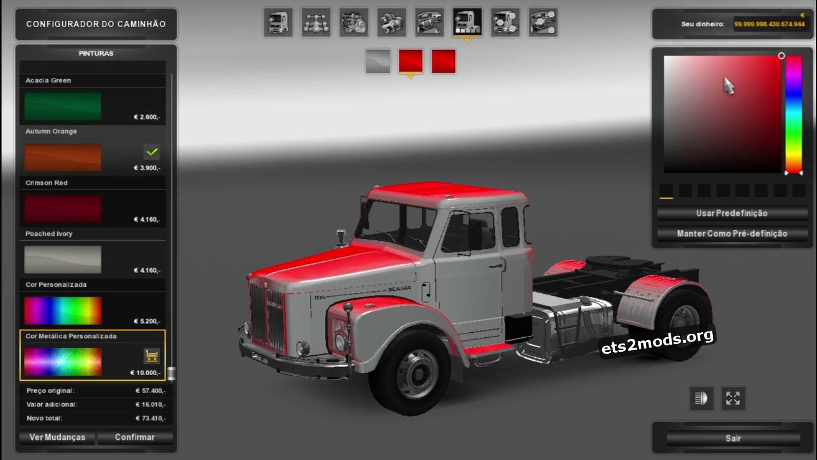 Truck - Scania 111s