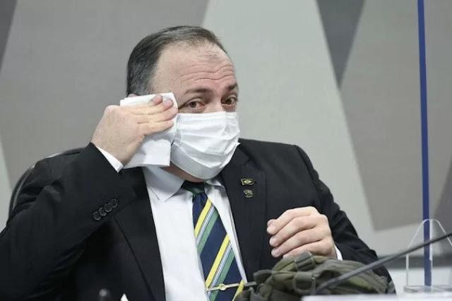 STF libera quebra de sigilo de Pazuello, capitã cloroquina e Ernesto Araújo