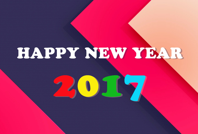 Happy New Year 2017 HD Wallpaper 27