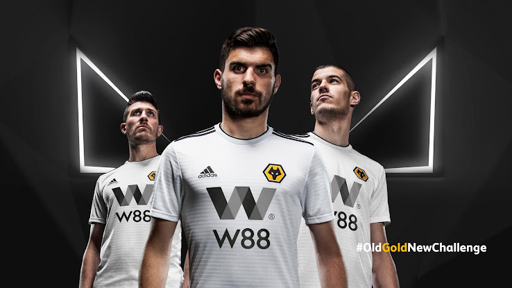 ff98ecbaf Adidas Wolves 18-19 Premier League Home   Away Kits Revealed - Footy ...